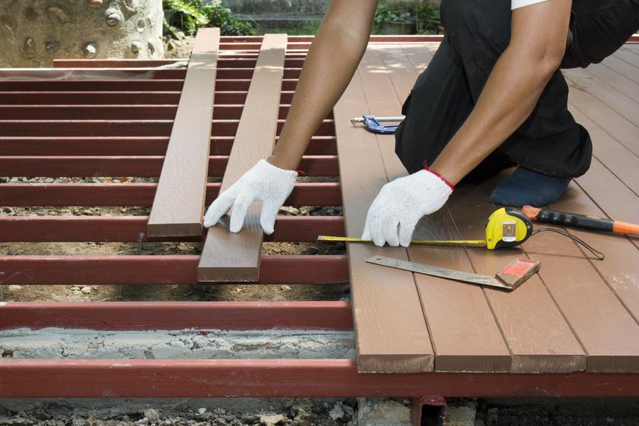 Terrassenschrauben